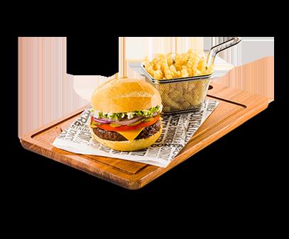 Burger artesanais em Restaurante Container, desde 1998 - o primeiro do Brasil